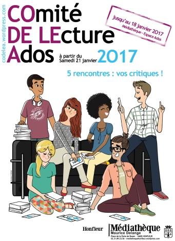 Affiche Comité de lecture ados by MiHaM