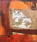 Poémencire III-Encaustique sur bois marouflé