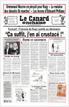 Le Canard enchaîné est un hebdomadaire satirique français, paraissant le mercredi. (source wikipedia.org)