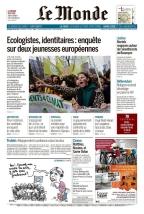 Le Monde est un journal français fondé par Hubert Beuve-Méry en 1944. C'est l'un des derniers quotidiens français dits « du soir », qui paraît à Paris en début d'après-midi, daté du lendemain, et est distribué en province le matin suivant. (source wikipedia.org)