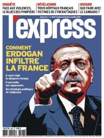 L'Express est un magazine d'actualité hebdomadaire français appartenant au Groupe L'Express, filiale de SFR Presse créé par l'entrepreneur franco-israélien Patrick Drahi et l'homme d'affaires français Marc Laufer. (Source wikipedia.org)