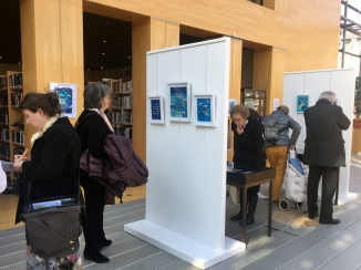 Vernissage de l'exposition Erminig de Mathilde Arnaud - 2019