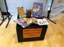 Dans le cadre du 30ème anniversaire de la Convention internationale des droits de l'enfant, la Médiathèque expose les réalisations d'enfants de Honfleur, âgés de 4 à 10 ans.