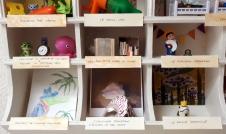 Les Petit Cabinet de curiosités d'Hortense, 3 ans et demi (aidée de sa maman Éléonore)