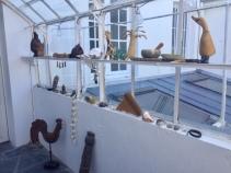 « Exotisme à la fenêtre » pour Louise CM1 – école Caubrière