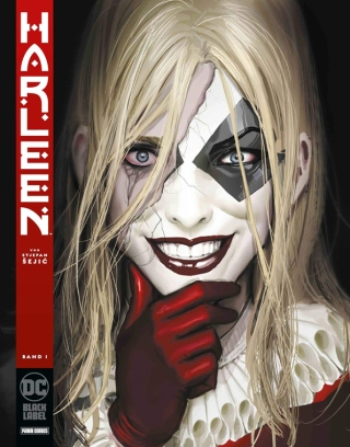 Embauchée à l'asile d'Arkham après de difficiles études, la psychologue Harleen Quinzel s'estime heureuse d'apporter son soutien et son expertise aux plus grands criminels de Gotham. Parmi eux, le Joker suscite son intérêt au point que la jeune femme se laisse peu à peu séduire.