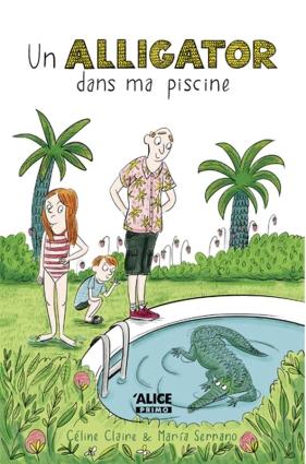 Agathe, son frère et leur père se préparent à partir en vacances en Floride. Avant le départ, Agathe plonge dans leur piscine et découvre avec horreur qu'elle est occupée par un alligator. Dans un élan de bonté, son père a recueilli l'animal dans une animalerie et souhaite le ramener avec eux en Floride. (Electre)