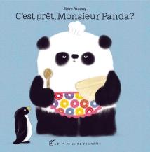 Alors que monsieur Panda prépare une surprise, tous ses amis sont impatients et lui posent beaucoup de questions. Il n'y a qu'un petit pingouin qui attend sagement et qui sera peut-être récompensé pour sa patience. (Electre)
