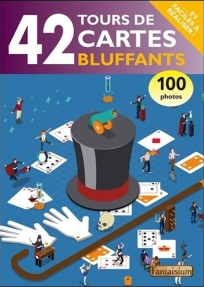 42 tours de cartes faciles à réaliser, empruntés à de grands illusionnistes comme Louis Comte, H. Félix ou Jean Hugard, avec de nombreuses illustrations pour compléter les explications. (Electre)