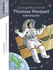 L'histoire de Thomas Pesquet, qui réalise son rêve de devenir spationaute. A 38 ans, après des années à se préparer pour ce moment, il se retrouve au coeur de la station spatiale internationale. Une biographie accompagnée d'informations documentaires sur l'espace et sur la vie des astronautes. (Electre)