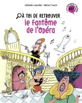 Le lecteur, dont la classe visite l'opéra, part à la recherche du fantôme qui hanterait les lieux. En poursuivant une silhouette, il visite ainsi tout le bâtiment : la fosse d'orchestre, la loge des artistes ou encore la régie. A la fin de chaque chapitre, il choisit entre plusieurs actions pour continuer l'aventure. (Electre)