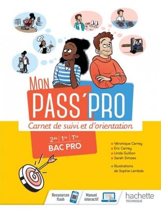 Un cahier à destination des élèves de bac pro permettant aux enseignants de suivre leurs parcours et de les accompagner dans leur orientation scolaire. Avec des activités. (Electre)